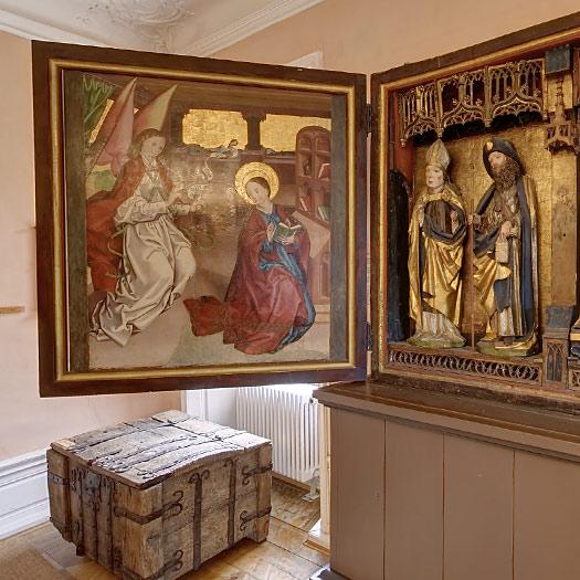 Altarzimmer mit Marienaltar