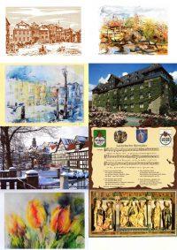05 Postkarten Künstlerkarten